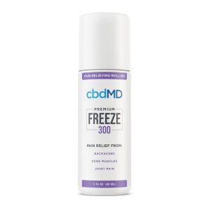 cbdMD Freeze Pain CBD Relief Gel Best CBD For Carpal Tunnel