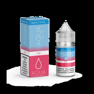 Aqua Nicotine Salts