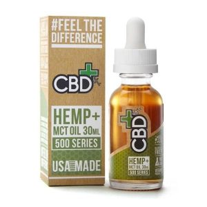 CBDfx Hemp MCT Oil Tincture