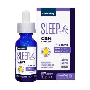 CBDistillery CBN CBD Sleep Tincture Oil