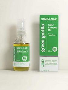 Certified Organic Pure CBD Oil 3000 Mg