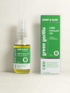 Certified Organic Pure CBD Oil 7500 Mg