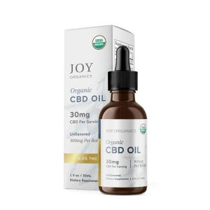 Joy Organics CBD Tincture Oil Best CBD For Focus