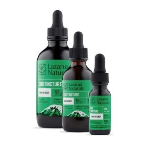 Lazarus Naturals High Potency CBD Tincture