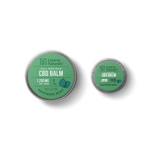 Lazarus Naturals Soothing Mint CBD Balm