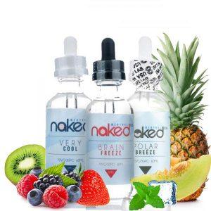 Naked 180 mL E-Liquid Bundle Menthol