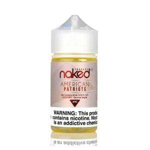 Naked American Patriots Flavored E-Liquid