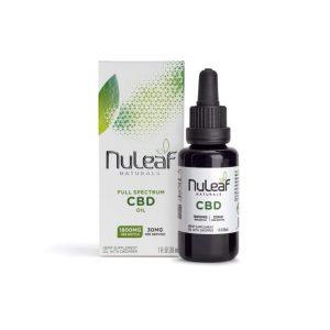 NuLeaf Naturals Full Spectrum CBD Oil 1800mg 30ml