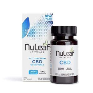 NuLeaf Naturals Full Spectrum CBD Softgels 15mg