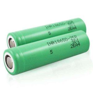 Samsung 25R 18650 2500mAh 20A Battery